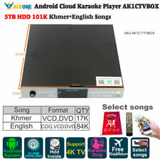5TB HDD 101K Khmer/Cambodian Songs,Android Karaoke Player,JukeBox,YOUTUBÊ,