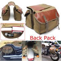 Saddle Bag Panniers Saddlebag Motorcycle Luggage New For Haley Sportster Honda