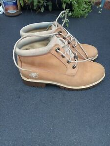 Timberland Leather Boots Size 6