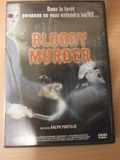 DVD - BLOODY MURDER - De Ralph Portillo - réf 54