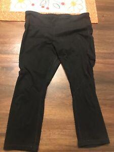 Women's Gap Fit Black Pant Size M regular