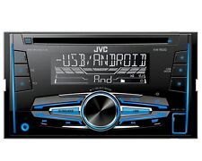JVC Radio 2 DIN USB AUX für Hyundai Santa Fe CM Facelift 2009-08/2012 schwarz