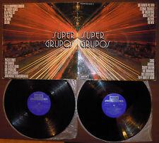 2LP SUPER GRUPOS (Decca 70 SPAIN) prog Web Move End Frijid Pink unique ps EX/VG
