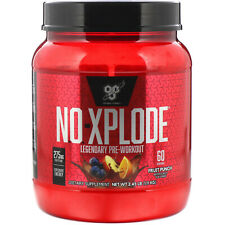 BSN  N O -Xplode  Legendary Pre-Workout  Fruit Punch  2 45 lbs  1 11 kg