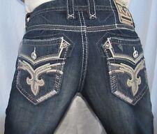 New Men authentic Rock Revival Olen-J406 straight cut jean size 36