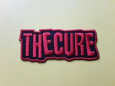 POP, ROCK, PUNK, METAL MUSIC SEW ON & IRON ON PATCH:- THE CURE