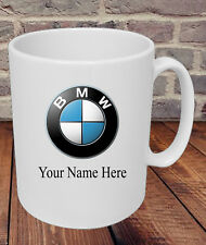 Personalised BMW Car Logo Mug Dad Grandad Uncle Mum Present Gift Friend Name