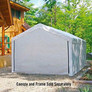 Enclosure Kit for Flyline Portable Single Carport 10ft x 20ft