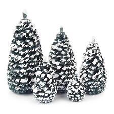 Seiffener Fichte 5tlg. NEU Volkskunst Holzbaum Weihnachtsbaum Ringelbaum Holz