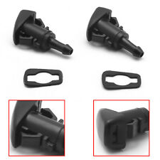 2pcs Car Windshield Washer Water Nozzles Spray For Chrysler 300 Dodge Ram 1500
