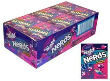 Bulk 24 x Wonka Nerds Lollies Strawberry Grape Candy Buffet Party Favors Sweets