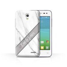 Étuis, housses et coques argentés Pour Alcatel One Touch pour téléphone mobile et assistant personnel (PDA) Alcatel