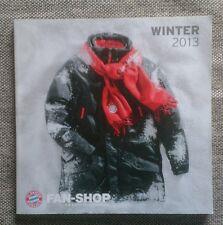 FC Bayern München Fanshop Katalog Winter 2013 Sammler