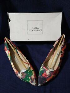 Dana Buchman Tropical Heels Size 8