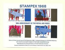 GB 1968 National Stamp Exhibition - STAMPEX - Souvenir Sheet - MNH