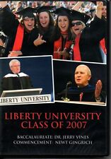 LIBERTY UNIVERSITY CLASS OF 2007 COMMENCEMENT DVD - NEW SEALED
