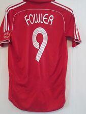 Liverpool 2006-2008 Home Fowler 9 Football Shirt Size Small /43515