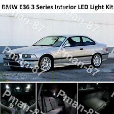 DELUXE BMW E36 3 SERIES COUPE  FULL LED Light UPGRADE WHITE XENON Interior KIT