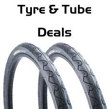"Vandorm Wave 26"" x 1.95"" Slick Mountain Bike MTB Tyre & Tube DEAL OPTIONS"