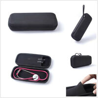 Black Stethoscope Carry Case Storage Bag Fits for Littmann II lll Lightweight SE