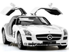 WELLY 1:24 24025 2013 MERCEDES BENZ SLS AMG NEW DIECAST MODEL CAR WHITE