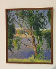 Russian Impressionist Painting By Listed Artist Boris Gladchenko