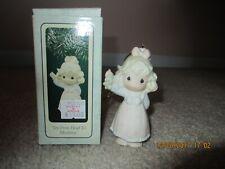 Precious Moments Ornament Joy From Head To Mistletoe 1995 150126