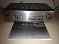YAMAHA AV-66 YST Natural Sound Stereo Integrated Amplifier w/ Manual, Works Good