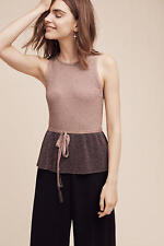 Anthropologie by Moth Women's Riella Sleeveless Pullover Sweater/Top Size L