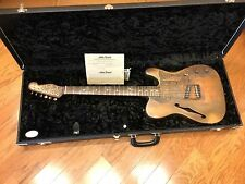JAMES TRUSSART SteelCaster Rust-O-Matic Electric Guitar w/ Case  #08 002
