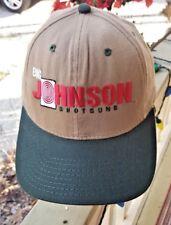 VINTAGE BIG JOHNSON SHOTGUNS TRUCKER HAT OFFICIAL HUGE HEAD WEAR ADJUSTABLE