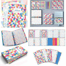 Filofax A5 Geometric Illustrated Diary Plan Refill Pack Insert Planner 17-6352