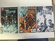 SECRET INVASION #1-3 (Thor), Marvel Comics, FREE SHIPPING