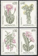 Monaco 1994 Cactus/Cacti/Plants/Nature/Flowers 4v set (n41504)