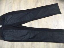 BLACKY DRESS tolle Stretchhose teilweise beschichtet schwarz Gr. 42? TOP SJ1117