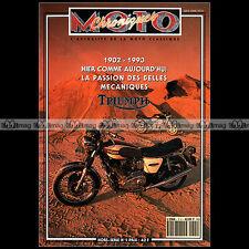 CHRONIQUES MOTO HS 1-b ★ TRIUMPH 1902-1993 ★ 900 TRIDENT T20 TIGER CUB H TRUSTY
