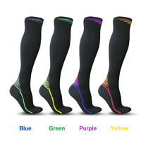 Compression Socks  Running Medical 20-30mmHg Graduated Support Mens Womens S-XL