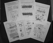 1937-42 700E Scale Hudson Locomotive/700T/W Tender Service Information (New)2018