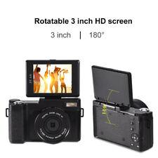 Digitalkamera Full HD 1080P drehbar Bildschirm Video Camcorder Vlogging Kamera ❤
