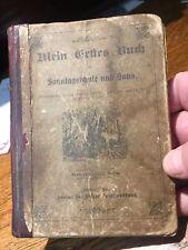 1875 - Mein Erftes Buch, Pleasant Corner, Carbon County, Pa. Albert Notestein