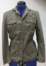 Damen Jacke Damenjacke Sommerjacke olivegrün Gr. 36