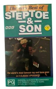 VHS  The Very Best of Steptoe and Son PG PAL BBC 1993 5 Episodes.