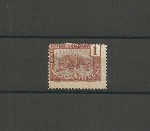 1 Timbre CONGO FRANCAIS 1 c Panthère 1900