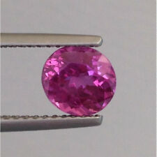 Natural Heated Pink Sapphire pink color round shape 1.42 carats
