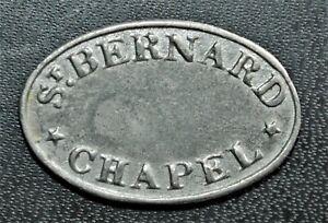 1829 St. Bernard Chapel, Edinburgh, Scotland - Communion Token