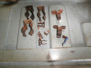 1963 Alpine Sunbeam trunk jack tire iron clips
