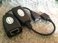 Convertisseur Usb Ethernet 30 Metres Rallonge Prolongateur Cable Rj45 100 Ft 50