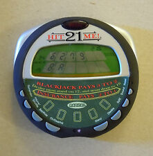 Radica Blackjack Hit Me 21 handheld electronic game Tested and Works Great