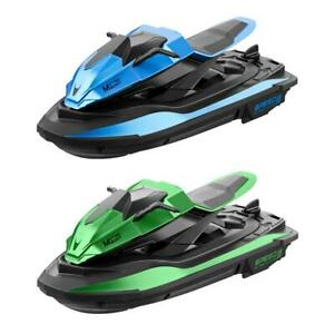 2.4G Remote Control Motorboat High-speed Electric Watercraft Rowing Jet Ski Toy