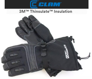 Clam Ice Armor Renegade Waterproof Ice Fishing Gloves (Select Size)
